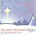 St John's 2001 Christmas Choir