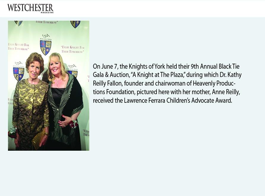 Westchester Magazine -- August 2013